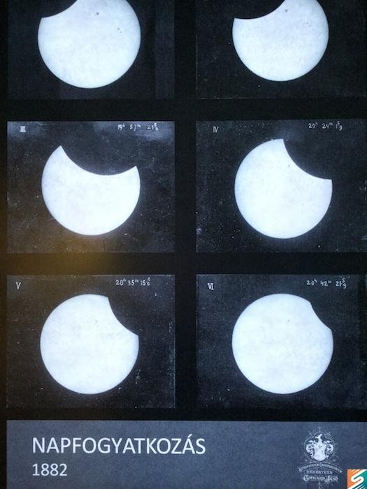 Az 1882. május 16-i részleges napfogyatkozáskor rögzített képek Gothard Jenő első ismert csillagászati felvételei.