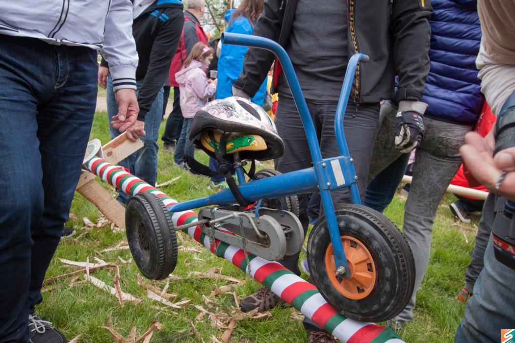 Győzött a nyers erő – kidöntötték a kerékpárosok fáját