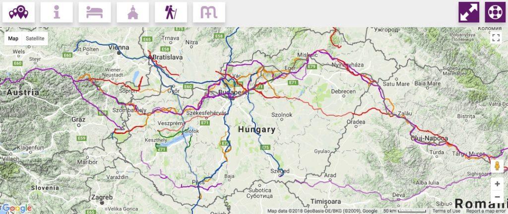 mária út térkép Zalaegerszeg Botfa Nemeshetes Búcsúszentlászló – bővült a Mária Út  mária út térkép